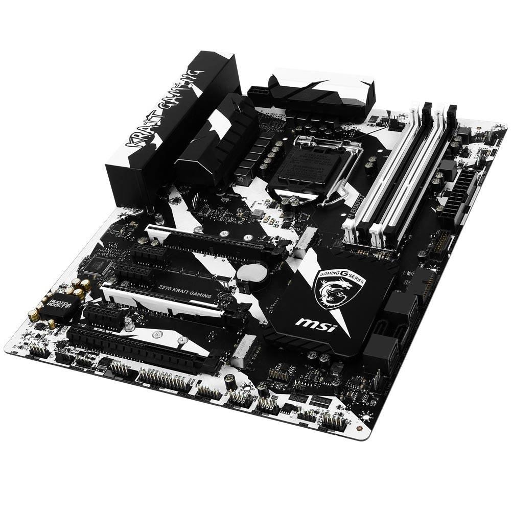 Placa Mãe LGA 1151 Z270 Krait Gaming DDR4 - MSI