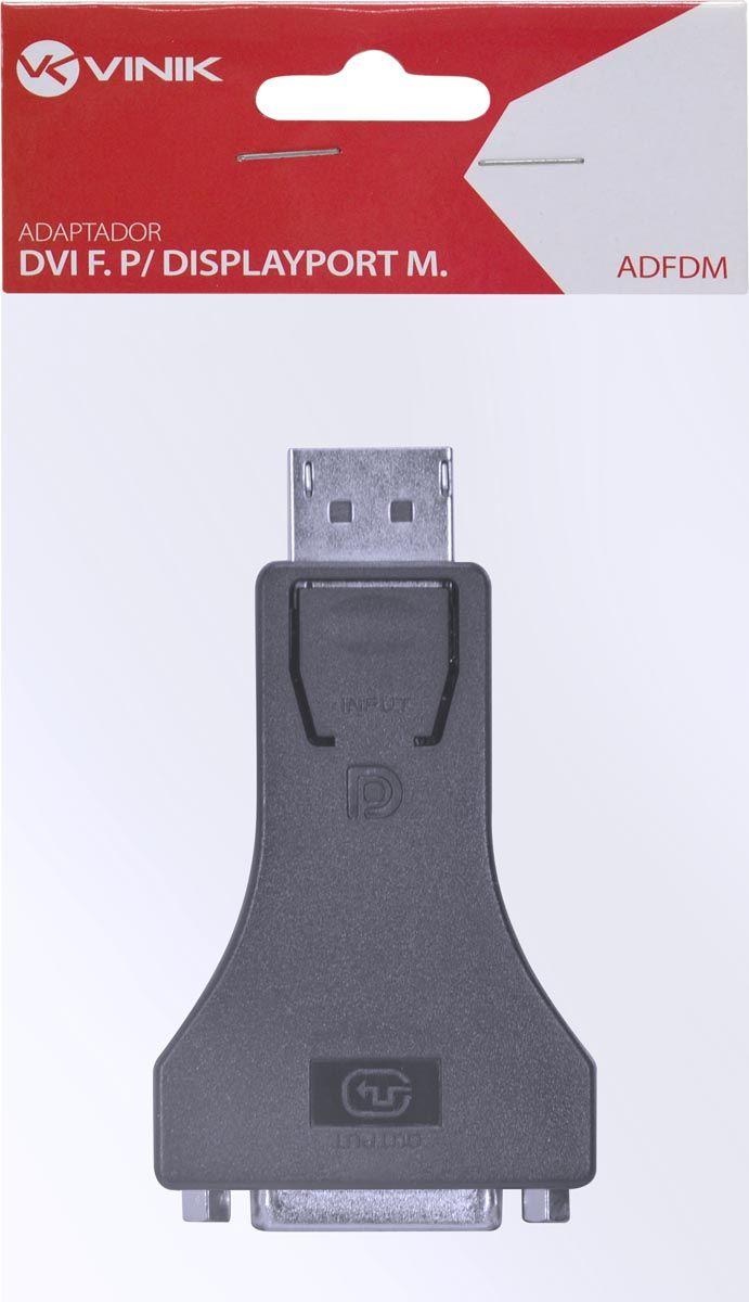 Adaptador DVI Fêmea para Displayport Macho ADFDM 25543 - Vinik