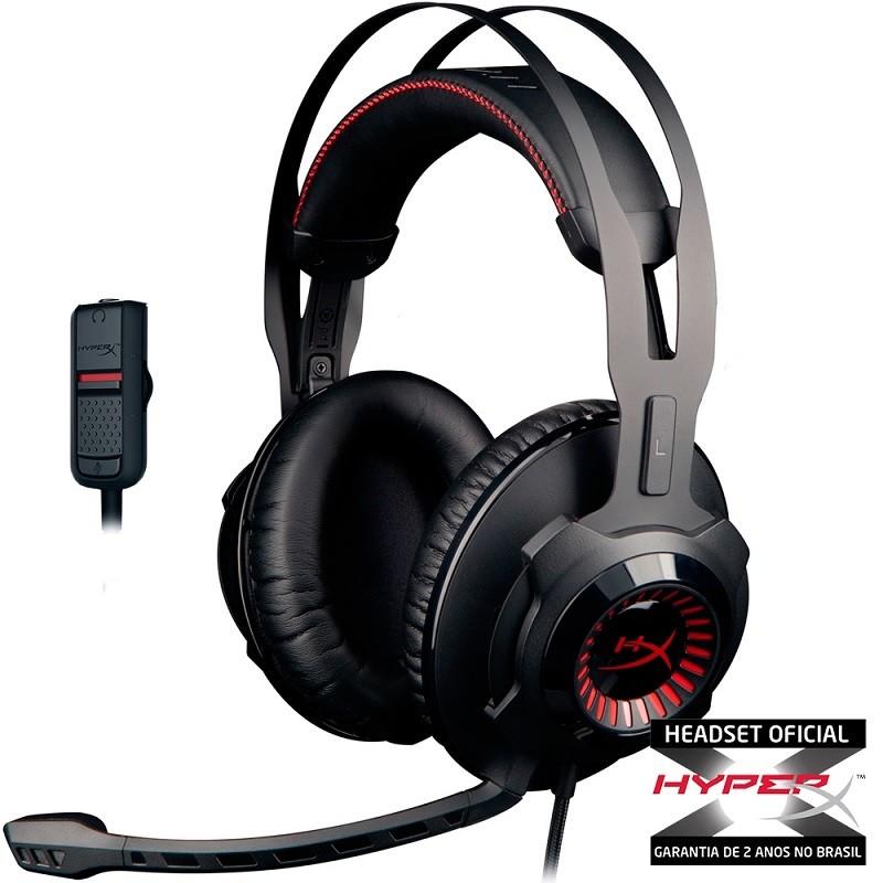 Headset Pro Gaming HyperX Cloud Revolver HX-HSCR-BK/LA - Kingston