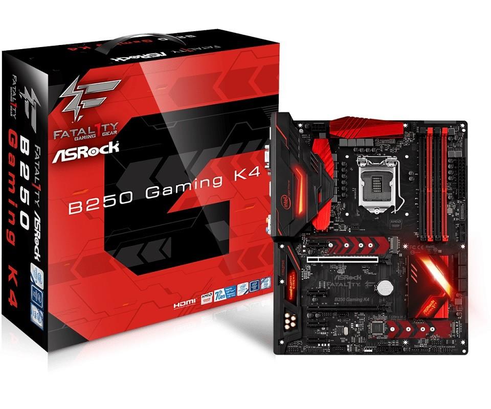 Placa Mãe LGA 1151 Fatal1ty B250 Gaming K4 DDR4 - ASRock
