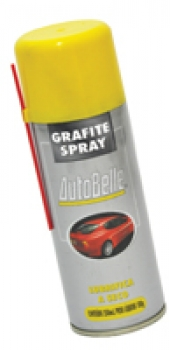 Grafite Spray 250ml Lubrifica a Seco - Autobelle