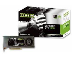 Placa de Vídeo Geforce GTX 1060 6GB DDR5 PCI-E 3.0 ZO1060-6GD5H - Zogis