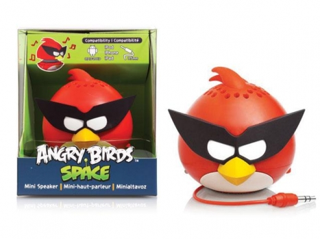 Caixa de Som Angry Birds Mini Speaker Red Bird Glasses 2.5W RMS (PG782G) - Gear4