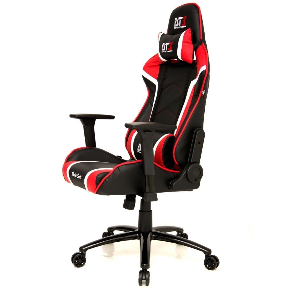 Cadeira Modena Black Red 10504-0 - DT3 Sports
