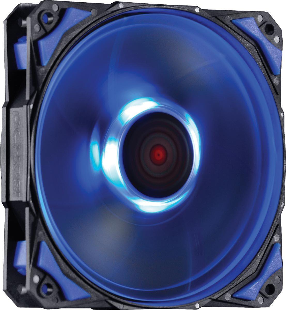 Cooler para Gabinete Fury F4 120mm LED Azul F4120LDAZ 24035 - Pcyes
