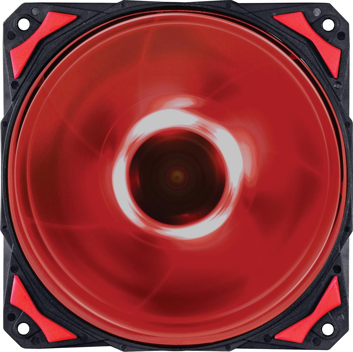 Cooler para Gabinete Fury F4 120mm LED Vermelho F4120LDVM 24034 - Pcyes