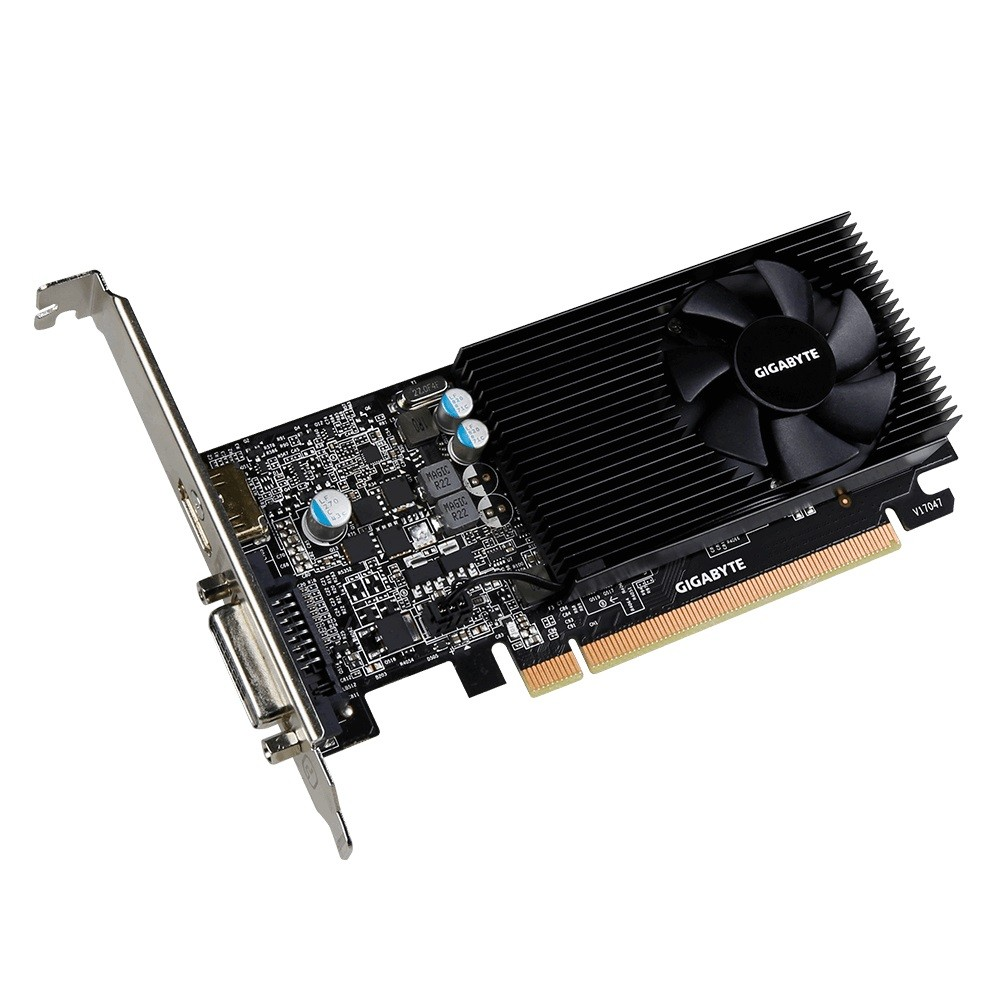 Placa de Vídeo GeForce GT1030 2GB GDDR5 Low Profile GV-N1030D5-2GL - Gigabyte