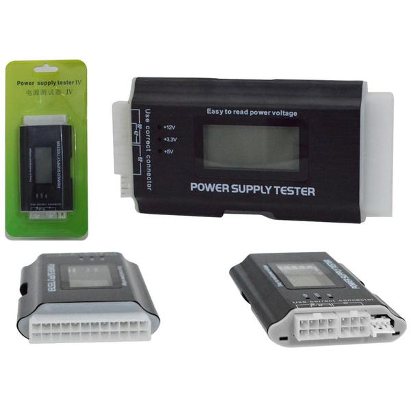 Testador de Fonte ATX Compatível com BTX e ITX TT0008 - OEM