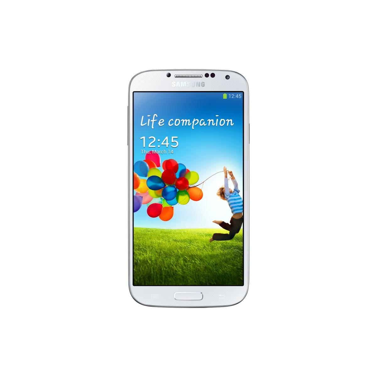 Smartphone Desbloqueado Galaxy S4 GT-I9505 Branco, Quad Core 1.9 GHz, 4G Android 4.2 Wi-Fi Camera 13MP Tela 5 - Samsung