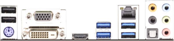 Placa Mãe LGA 1150 Z87M PRO4 (S/V/R) 90-MXGPD0-A0UAYZ) - AS-ROCK