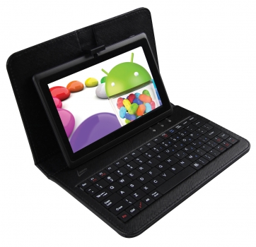 Leaderpad Dual Core 1.2Ghz RAM 1GB Memória de 8GB com Teclado Android 4.1 7092 - Leadership
