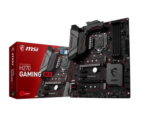 Placa Mãe LGA 1151 H270 Gaming M3 DDR4 USB 3.1 - MSI