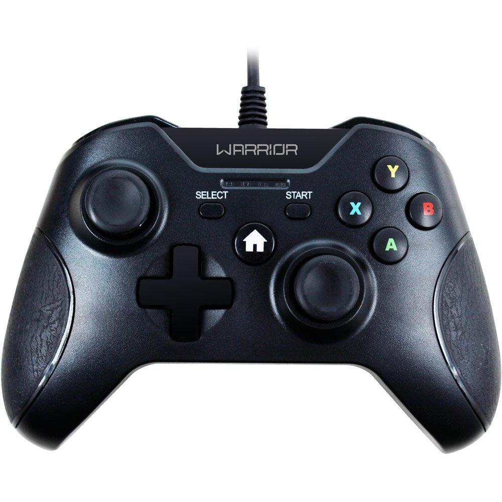 Controle para Xbox One / PC Warrior Preto JS078 - Multilaser