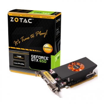 Placa de Video GeForce GTX650 1GB GDDR5 128Bits Pefil Baixo ZT-61008-10M - Zotac