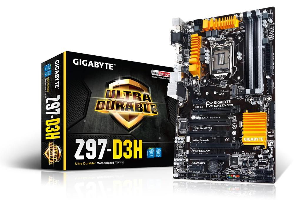 Placa Mãe para Intel Inside GA-Z97-D3H LGA 1150 - Gigabyte