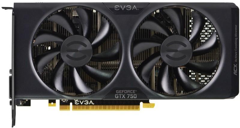 Placa de Vídeo GeForce GTX750 1GB DDR5 128Bits FTW ACX 01G-P4-2757-KR - EVGA