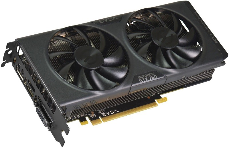 Placa de Vídeo GeForce GTX750 1GB DDR5 128Bits FTW ACX 01G-P4-2757-KR - EVGA