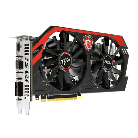 Placa de Video GeForce GTX750 1GB DDR5 128Bits OC Edition Twin Frozr Gaming N750 TF 1GD5/OC - MSI