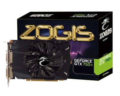 Placa de Video GeForce GTX750TI 1GB DDR5 128Bits ZOGTX750TI-1GD5 - Zogis