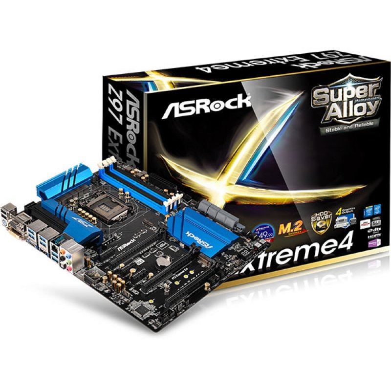 Placa Mãe LGA 1150 Z97 Extreme 4 (S/V/R) - AS-ROCK