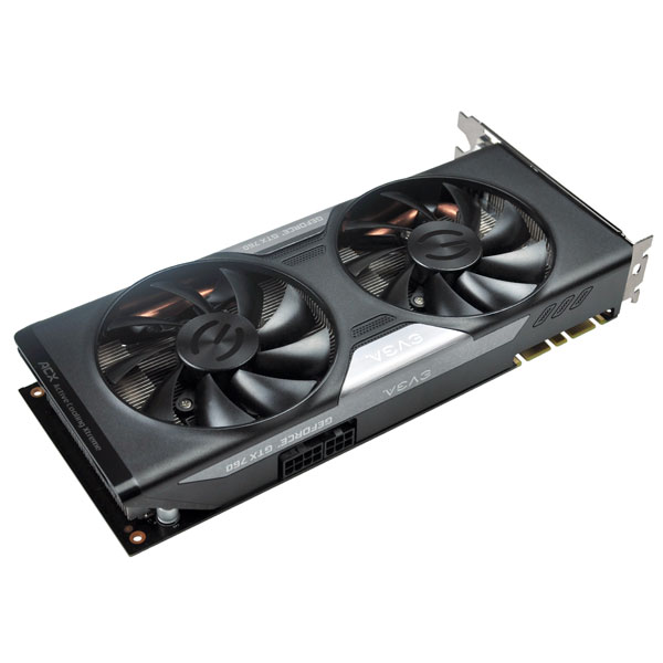 Placa de Video GeForce GTX760 4GB DDR5 256Bits 04G-P4-2767-KR - EVGA