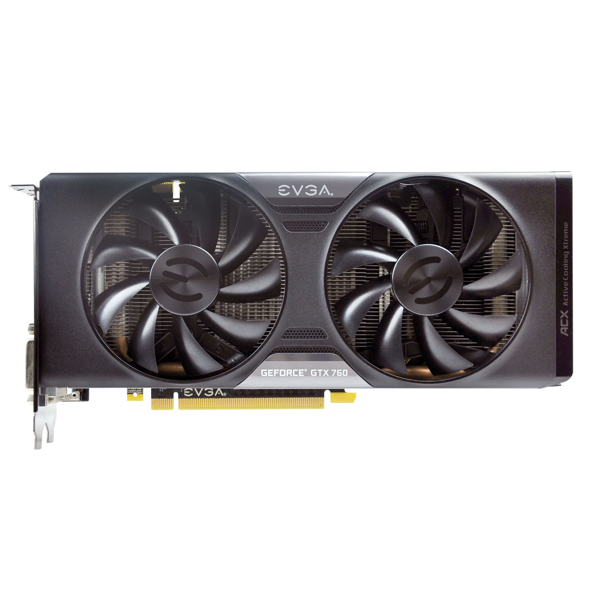 Placa de Video GeForce GTX760 4GB DDR5 256Bits Superclocked 04G-P4-2768-KR - EVGA