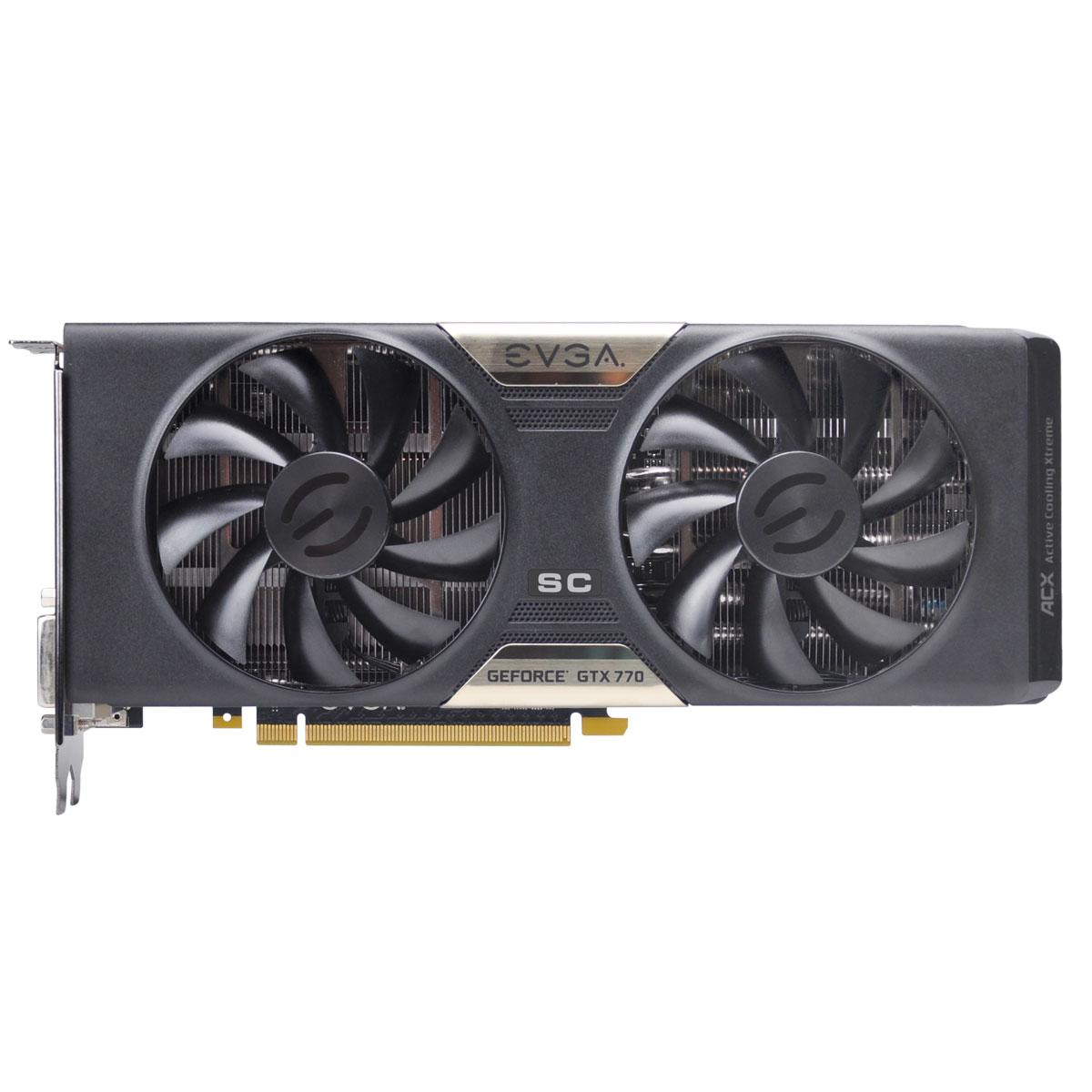 Placa de Video GeForce GTX770 2GB DDR5 256Bits Superclocked 02G-P4-2776-KR - EVGA