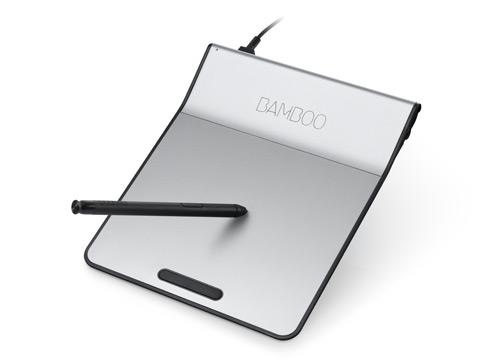 Touch Pad Bamboo Pad Black USB - CTH-301K - Wacom