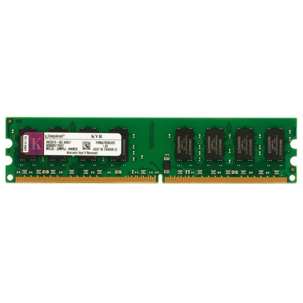 Memoria de 2GB DDR2 800Mhz KVR800D2N6/2G - Kingston
