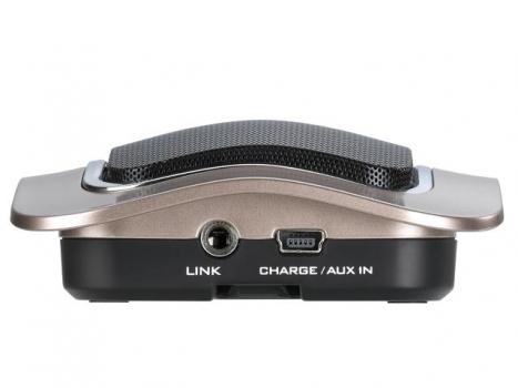 Caixa de Som SP-I400 para Ipad/Iphone 2W RMS com SD Card e Bateria Recarregável Metálico - Genius