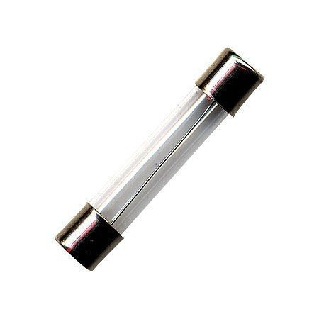 Fusivel Tubo de Vidro / Capacete Latao 8A 20AGLF - FTG