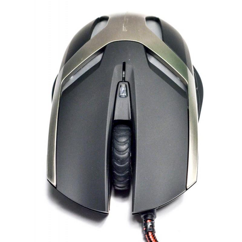 Mouse Gamer Optico Frost Wyam 2000DPI USB Preto XMS003BK - TEAM SCORPION