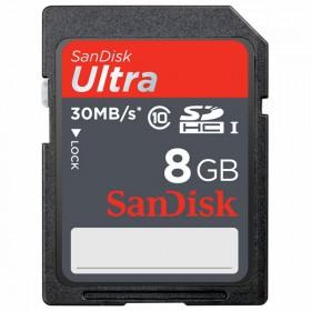 Cartao de Memoria 8GB SDHC Classe 10 Ultra SDSDU-008G-U46 - Sandisk