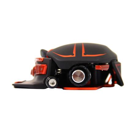 Mouse Gamer Laser Cyborg M.M.O. 7 6400DPI Matte Black (Ajustavel) MCB437130002 - Mad Catz