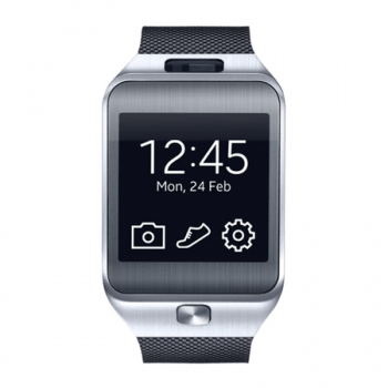 Relogio Galaxy Gear 2 SM-R380 Camera 2MP, 4GB, 512MB RAM, Bluetooth 4.0, Super AMOLED 1.63, Preto - Samsung