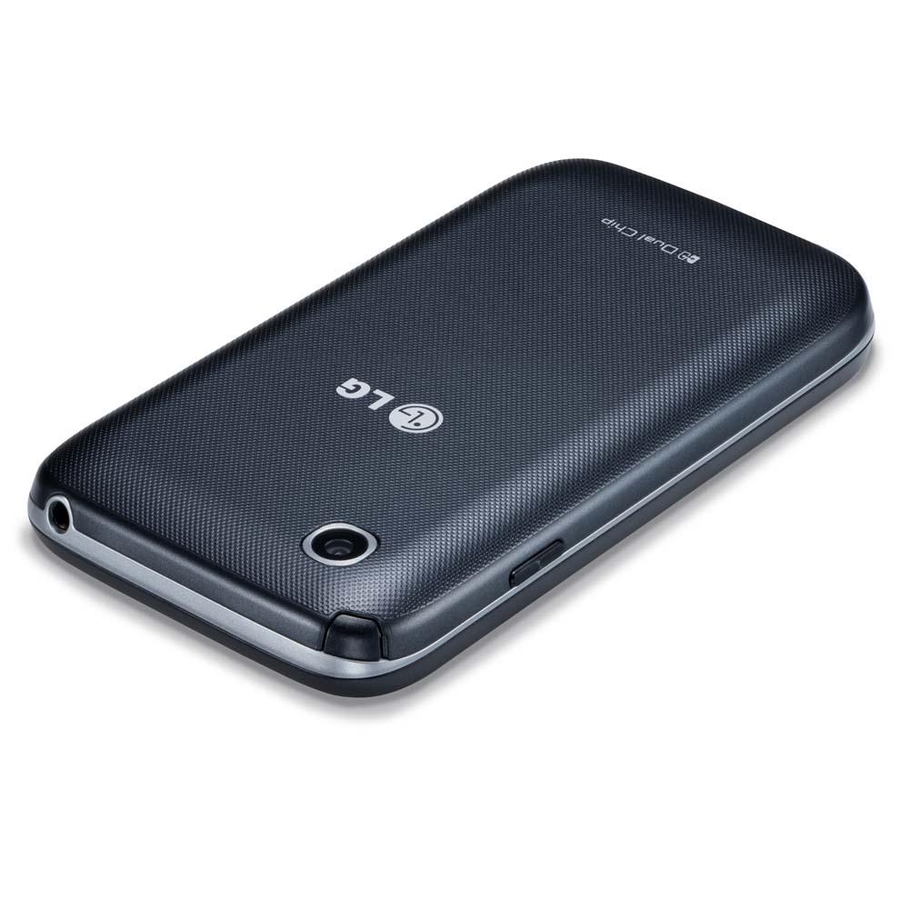 SALDÃO ! Celular L35 Dual TV D157 Preto com Tela de 3,2, Dual Chip, TV Digital, Android 4.4, Camera 3MP e Processador Dual Core