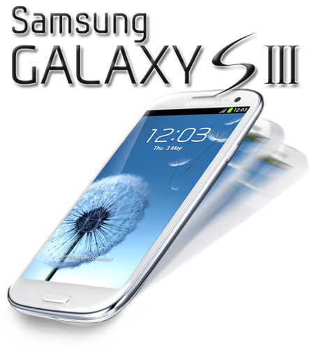 Smartphone Galaxy SIII I9300 Quad-Core 1.4GHz Tela 4.8 Super AMOLED Android 4.0 - Samsung