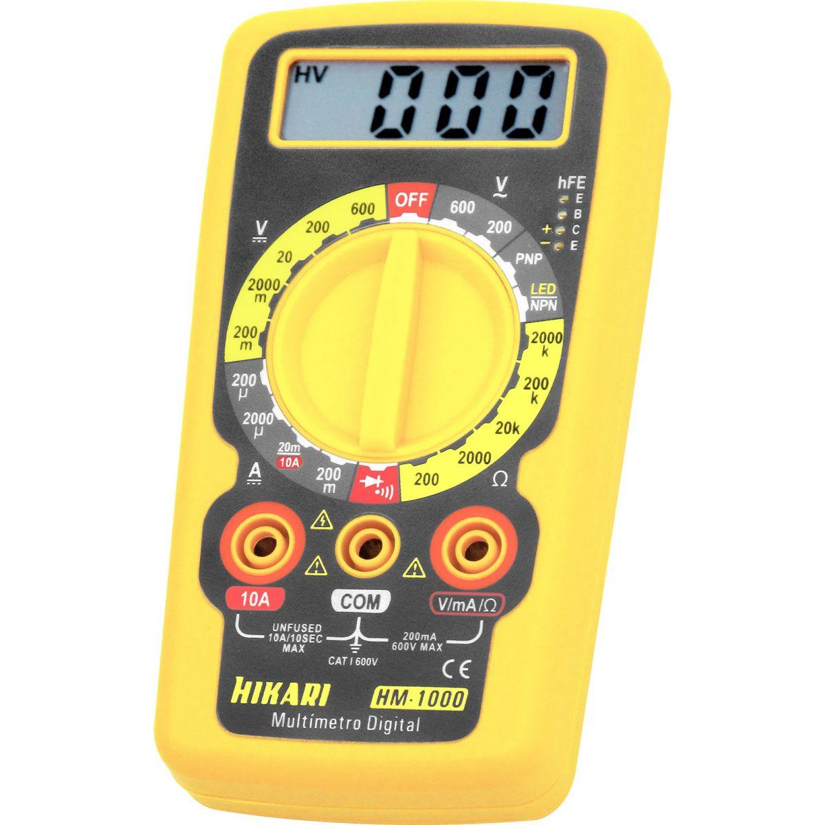 Multimetro Digital HM-1000 - Hikari