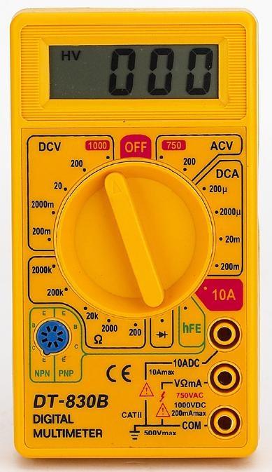 Multimetro Digital DT 830-B - Alltech
