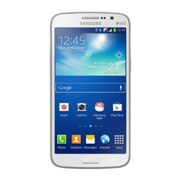 Smartphone Galaxy Gran Duos 2 TV G7102 - Android 4.3, 3G, Tela de 5,3, Cam 8MP, Quad Core 1.2 GHz, Dual Chip Branco