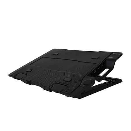 Base para Notebook ZM-NS2000 até 17 Polegadas c/ HUB USB Preta (4 ajustes de altura) - Zalman