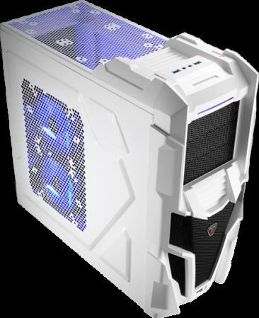 Gabinete AT Mechatron White EN57042 - Aerocool
