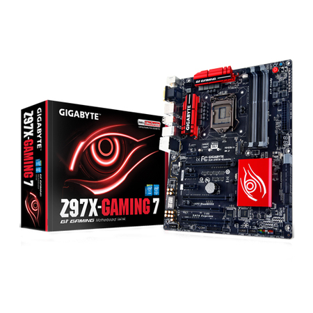 Placa Mãe LGA 1150 Z97X-Gaming 7 Serie 9 (S/V/R) - Gigabyte