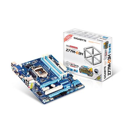 Placa Mãe LGA 1155 GA-Z77M-D3H (S/R/V) - Gigabyte