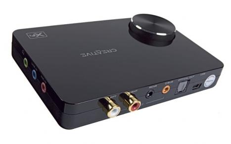 Placa de Som Externa Sound Blaster X-Fi 5.1 Pro Surround - 24-Bit / USB 2.0 SB1095 - Creative