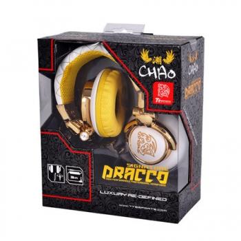 Fone de Ouvido Chao TT Sports Draco Signature Branco HTDRS007OEWH - Thermaltake