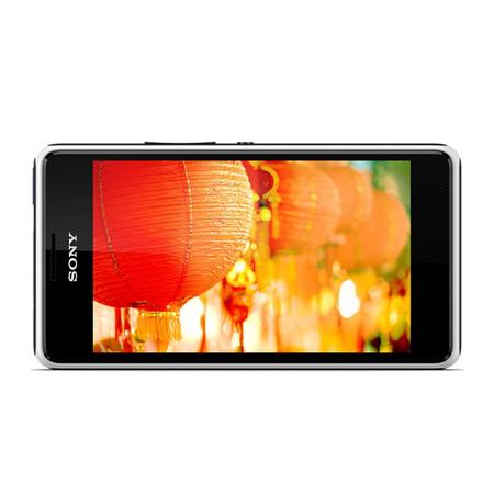 Smartphone Xperia E1 Dual Chip TV D2114 3G Android 4.3 Qualcomm 1.2GHz 4GB Câmera 3MP Tela 4 TV Digital Branco - Sony