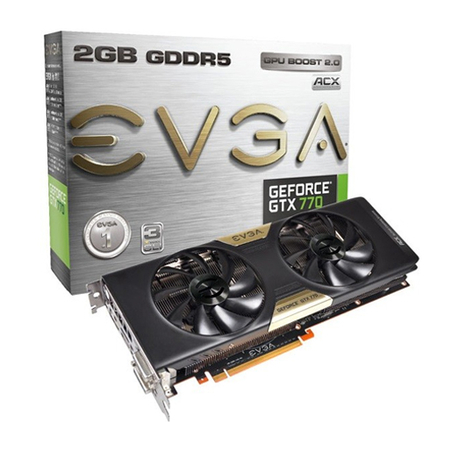 Placa de Vídeo Geforce GTX770 2GB DDR5 256Bits 02G-P4-2775-KR - EVGA