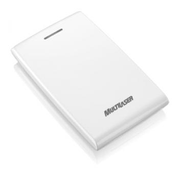 Case de HD 2.5 Sata Branco Piano GA080 - Multilaser