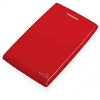 Case para HD de notebook 2.5 Sata Vermelho GA116 - Multilaser